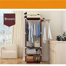 Shoe Rack And Coat Hanger Metal Coat Hat Bag Clothes Cloth Shoe Rack Stand Shelf Garment 21