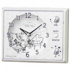 ミッキーとミニーが起こしてくれる目ざまし時計 セイコー J Castトレンド