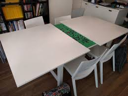 ikea norden concealed puzzle table