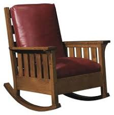 mission style rocker.  Mission Oak Mission Classics Loose Cushion Gustav Rocker By Stickley  Jacksonville  Furniture Mart Wood In Style L