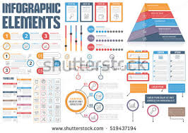 table graphic design. infographic elements - process infographics, workflow diagrams, timeline steps and options, table graphic design
