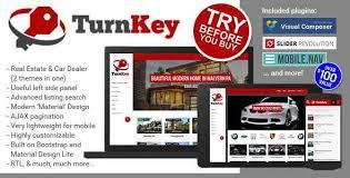 Turnkey Real Estate And Car Dealership Responsive Material