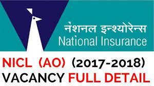 National Insurance Ao 2017 2018 Vacancy
