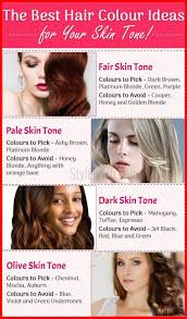 28 Albums Of Brown Skin Hair Color Chart Skin Tone