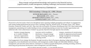 Resume For Mckinsey Sample Wellness Consultant Pdf Samples Of