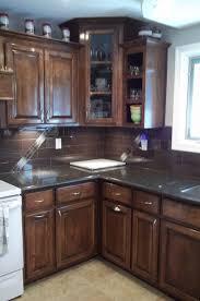 kitchen backsplash ideas with dark cabinets cabinet lighting backsplash home