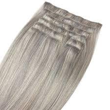 Silver Grey Deluxe 50cm 160g Zascha Hair