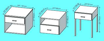 night stand dimensions standard bedside table lamp height cm relative bed nightstand dimensions ikea malm nightstand