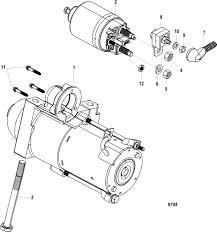 Mercruiser starter motor wiring diagram
