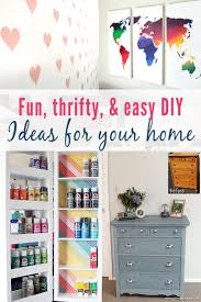 here s 10 ridiculously easy diy projects for your home they include easy crafts and projects that you can easily do