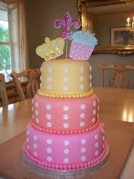 3 Tier Fondant Birthday Cakebest Birthday Cakesbest Birthday Cakes