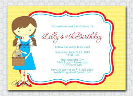 Pumpkin Invitations Template Rainbow Wizard Of Oz Birthday Party Invitations Card Template