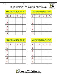 multiplication table blank worksheet fill in the printable impressive math 1 10 960