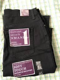 Gloria Vanderbilt Jeans Size Chart Amanda Classic High Waisted Tapered Jeans In Black