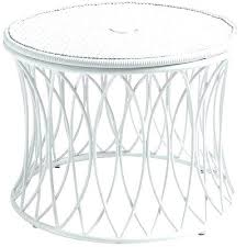 white outdoor side table patio side table with umbrella hole side table with umbrella hole fanciful white outdoor side table