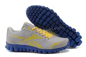 reebok running shoes 2014. 2014 mens reebok realflex 790 grey yellow blue running shoes