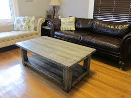 Coffee Tables With Basket Storage Rustic Coffee Table With Storage