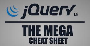 jquery cheat sheet the jquery mega cheat sheet make a website hub