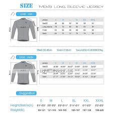 Paladin Cycling Jersey Size Chart Ilpaladino Mens Long Sleeve Cycling Jersey Eagle Bike