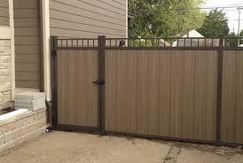 Aluminum Privacy Fence Castle Privacy Fence Aluminum I Nongzico