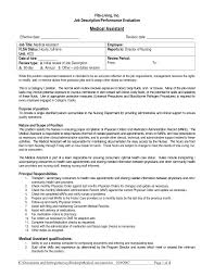 Certified Medical Assistant Resume Berathen Com For A Job Of Yo
