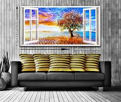 tree of life view from a window panoramic canvas wall art https  on canvas wall art tree of life with tree of life view from a window panoramic canvas wall art https