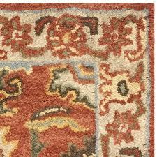 rust colored area rugs beige oriental rug 8x10