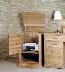 baumhaus mobel solid oak fully assembled hidden home office printer cabinet baumhaus mobel solid oak fully