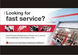 visit university toyota for toyota express maintenance txm service