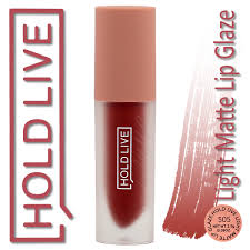 hold live light matte lip glaze suit