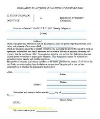 Word Format Durable Power Of Attorney Free Download Ordinary Form ...