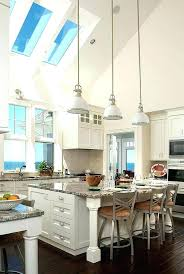 Vaulted ceiling lighting Asymmetrical Kitchen Lighting For Vaulted Ceilings Ceiling Ideas Fluorescent Recessed Kitchen Lighting Design Kitchens With Vaulted Pedircitaitvcom Kitchen Lighting For Vaulted Ceilings Ceiling Ideas Fluorescent And