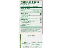 sweet leaf organic stevia sweetener 35 count per pack 1 each