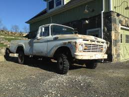 1963 Ford F100 Pickup Truck with 1957 Mercury 292 Y Block - Classic ...
