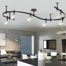 track lighting ceiling. Benny Flex Rail 6-Light Track Lighting Kit Ceiling