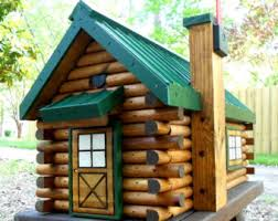 Log cabin mailbox Etsy