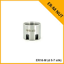 Er 8 11 16 20 40 Er25 Er32 Collet Mini Nut Chuck Holder Block With Nuts Specifications Types Torque Dimensions Sizes Chart Dxf