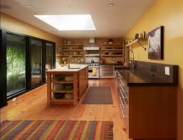 interesting rug in kitchen with hardwood floor hardwood floors and area rugs hardwood floors diy