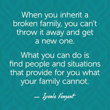 Broken Family Quotes And Sayings