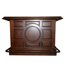 paneled wood bar server dry sink and foot rails ebth paneled wood bar server dry sink and foot rails