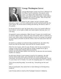 essays on george washington george washington essay