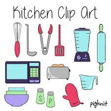kitchen appliances clipart. Delighful Appliances Kitchen Clip Art Appliances Baking Blender Microwave Spatula Ladle  Bowls With Appliances Clipart R