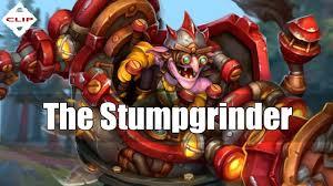 dota 2 items the stumpgrinder timbersaw set youtube