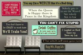 Wooden Signs With Quotes Interesting Wall Plaques With Sayings Wall Signs With Quotes Caffeine Junkie