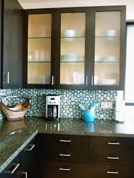glass shelves for kitchen cabinets beautiful attractive glass kitchen cabinet doors 13 for home design