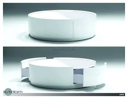 High Quality Full Size Of Coffee Tables:splendid Modern Round Coffee Table Storage  Withcircle With Ottomans Awesome Large Size Of Coffee Tables:splendid  Modern Round ...