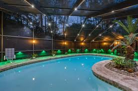 pool cage lighting. Nebula Rail Light System. Originally Designed For Pool Screen Cage Lighting P