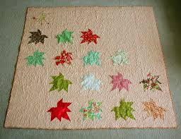 Super-Sized Maple Leaf Throw Quilt Â« Moda Bake Shop & A wonderful 63 1/2″ X 63 1/2″ leaf quilt that you can easily use from the  end of summer all the way through Thanksgiving! Enjoy! Adamdwight.com