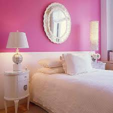 Pink Bedroom Paint Home Design Bedrooms White And Pink Wall Color Bination For Cute