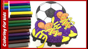 Coloring Sheets For Boys How To Color Soccer Coloring Pages Free